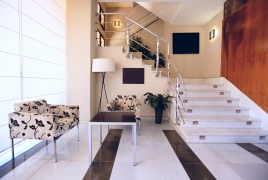 Carrarra Marble Floors and Steps