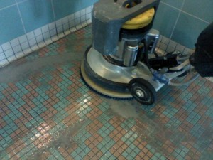 Pool Grout Cleaning