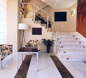 Modern Marble Living Room Floors
